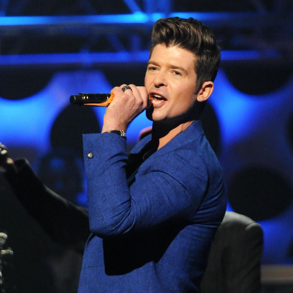 Robin thicke chris mckay filmmagic getty images nvjuhfo Image collections